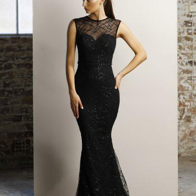 Sequin Jadore gown, size 8