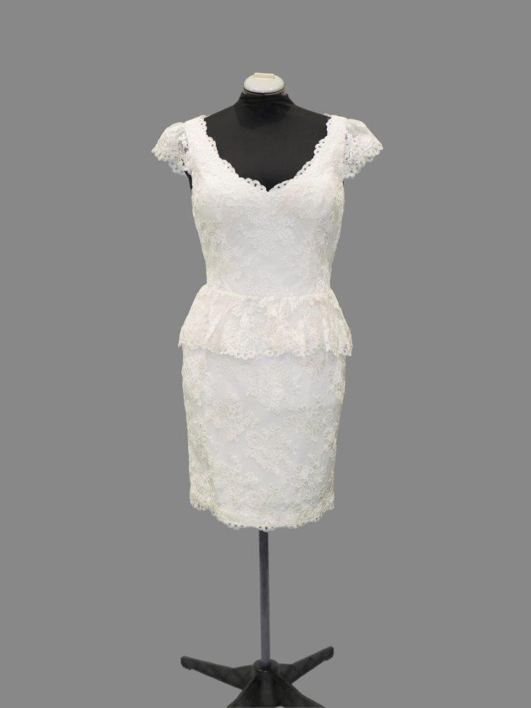 Jadore J4045C Cocktail dress, Ivory, Size14 & 16