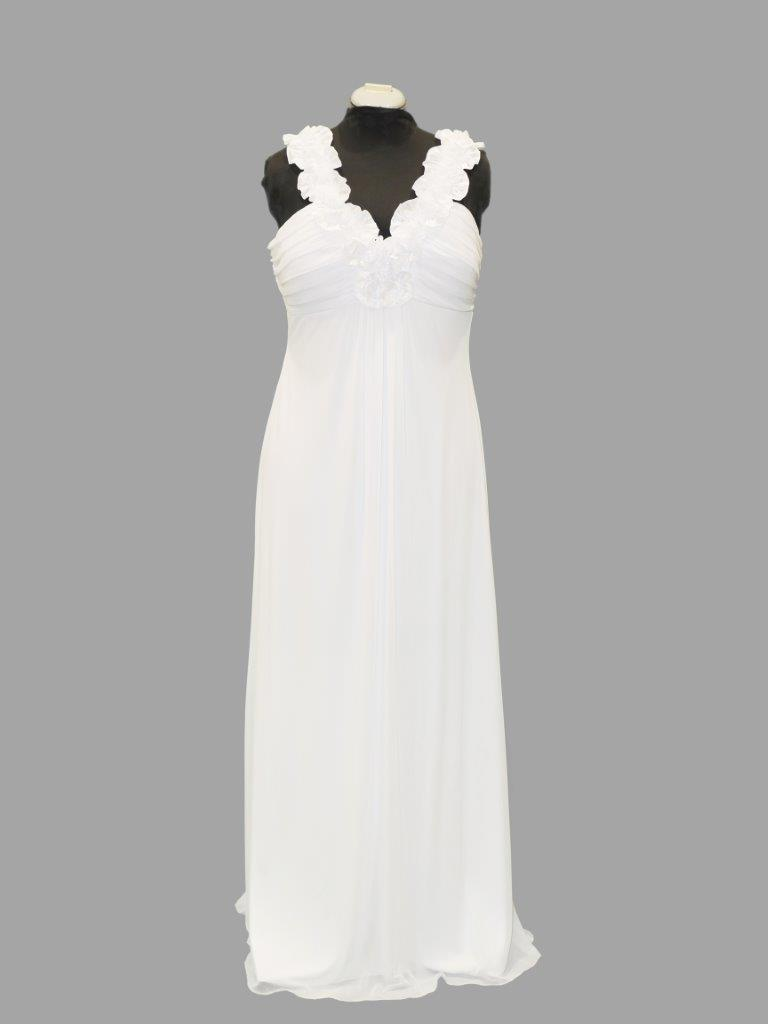 Simple Bridal or Debutante Gown, Mr K, KB4871, size 16