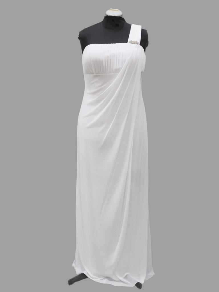 Simple Bridal or Debutante Gown, Mr K, KB5093, size 16