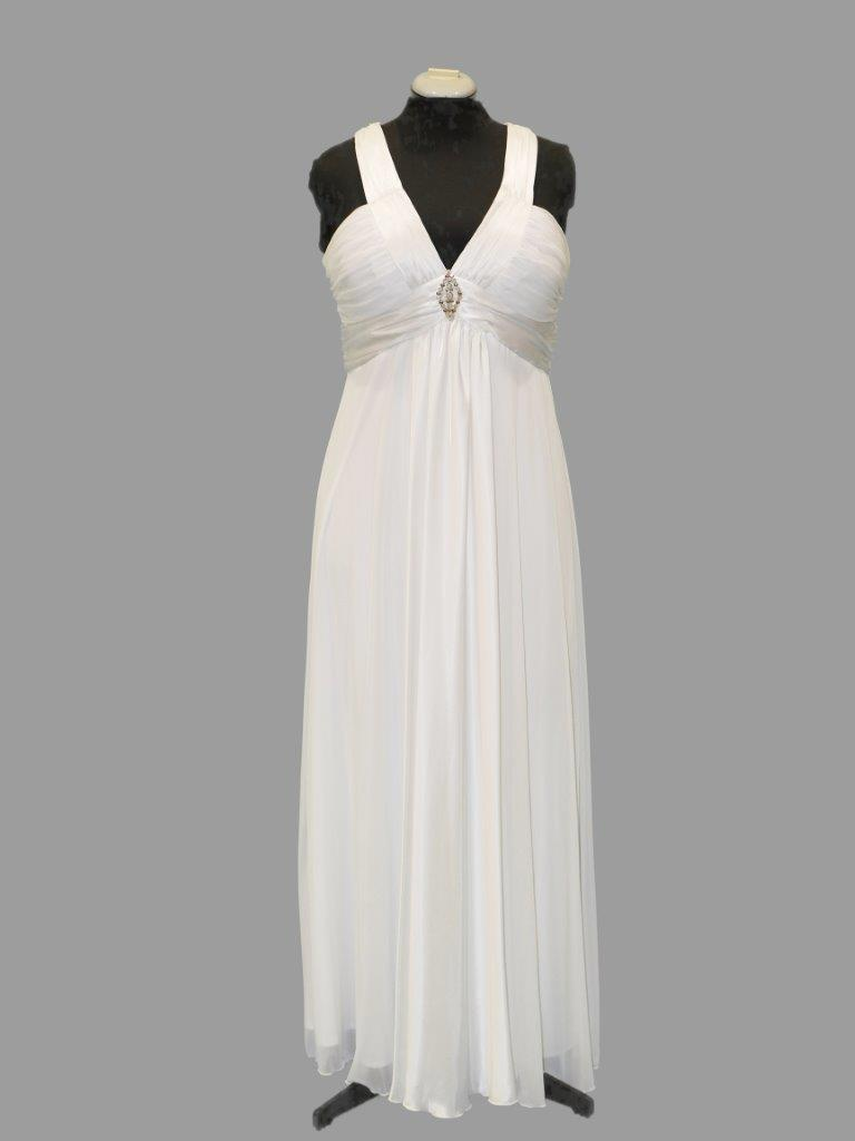 Simple Bridal or Debutante Gown low back, Mr K, size 16